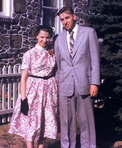 A Young Dick and Shirley Christman