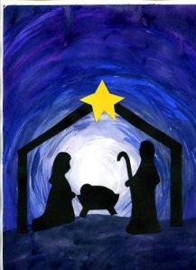 nativity siloutte082