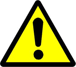 hazard-sign