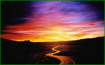 path sunset